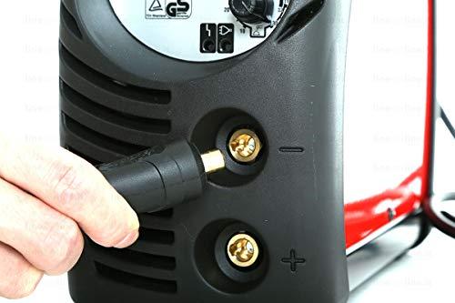 Telwin Force 145 Poste de Soudage Inverter à Electrode Fourni avec Accessoires de Soudage Mma et Mallette Plastique