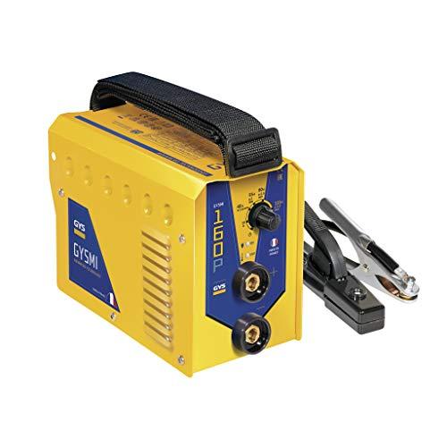 GYS - Gysmi 160P - Poste à Souder - inverter - MMA - Ø 1, 6 à 4 mm - 230V - Livré avec cables de masse et Porte Électrodes en Valise