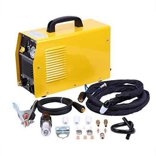 Ridgeyard CUT50 Poste à Souder 50Amp 220V Plasma Cutter Machine Poste à Souder Inverter Air Decoupeur Plasma Cutter Machine de Découpage avec Pression électrique Affichage Numérique