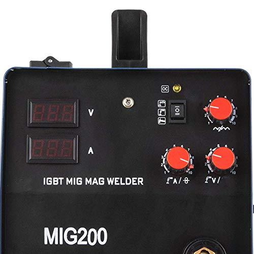 Chrisun Poste à Souder Mig-250 Amp/MIG/MMA200A Arc machine De Soudage MIG Soudeur MAG Soudeuse Professionnelle (MIG/MMA200A)