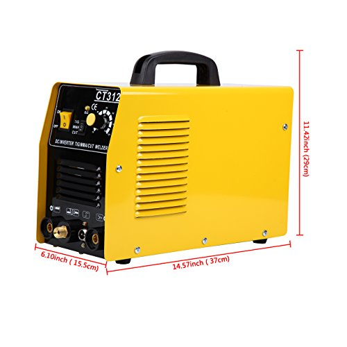 MuGuang 3 en 1 Multifonctions MMA / TIG / CUT Air Plasma Cutter Machine de Soudure Inverter Welder(Sans prise)
