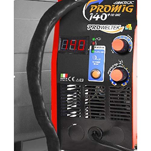 Poste à souder MIG NO GAZ PROMIG 140 Numérique Proweltek Semi automatique Garanti 3 ans