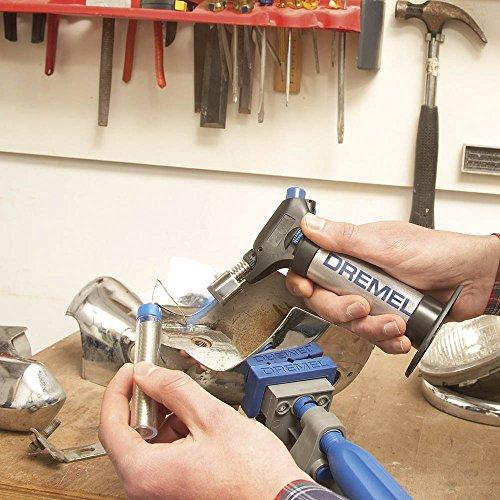 Dremel VersaFlame 2200 - Lampe à Souder Multifonction Sans-fil au Butane avec 4 Accessoires pour Soudage, Brasage, Thermo-retraction, Brûler